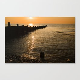 Jewels On The Sea Canvas Print