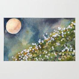 Moon Drops on Sacred Ground Rug