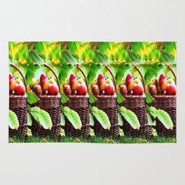 Fruit Basket Stereogram Rug