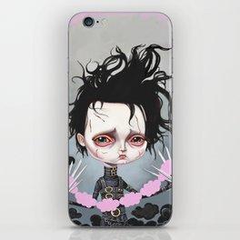 Edward Scissorhands Is Sad iPhone Skin