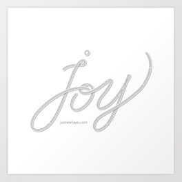 Joy – Ghost Art Print