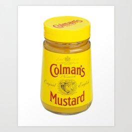 my favorite mustard Art Print