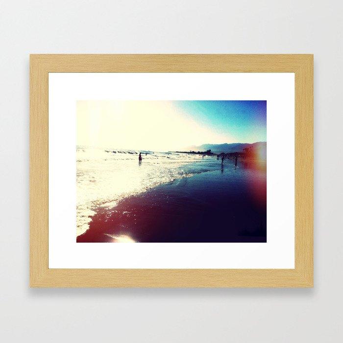 Carpenteria State Beach Framed Art Print