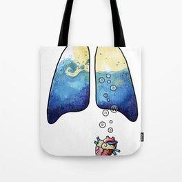 drowned Tote Bag