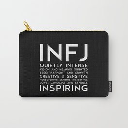 INFJ (black version) Carry-All Pouch