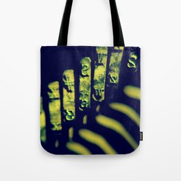 the moving finger writes; and, having writ, moves on Tote Bag