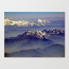 Himalayas Landscape Canvas Print