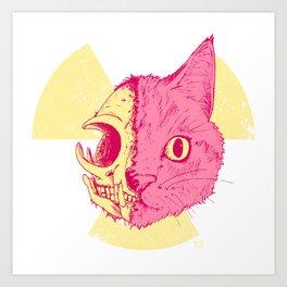 SCHRODINGERS CAT Art Print