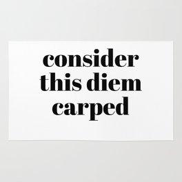 consider this diem carped Rug