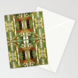 Out there in the woods, I feel peace........ Stationery Cards