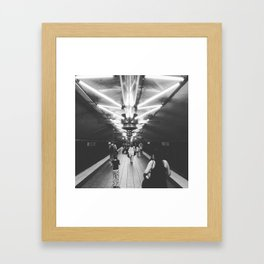 Grand Central Station Subway Framed Art Print