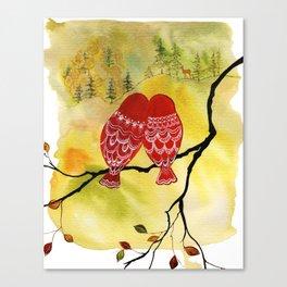Look! Deer! Canvas Print