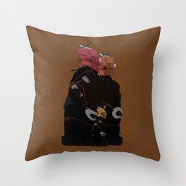Family Unit Throw Pillow