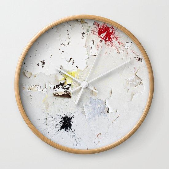 Splat Wall Clock