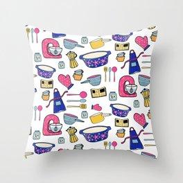 Kitchen Brights Throw Pillow
