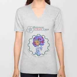 ButtercupSTEAM Locks Unisex V-Neck
