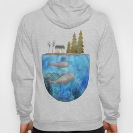 Whales are watching you Hoody