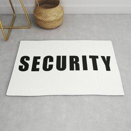 SECURITY TEE SHIRT inverse edition Rug