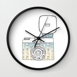 Photo in Russian Style  Wall Clock