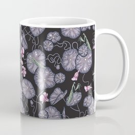Black Indian cress garden. Coffee Mug