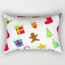 Christmas Eve Gift Surprise Sweet Rectangular Pillow