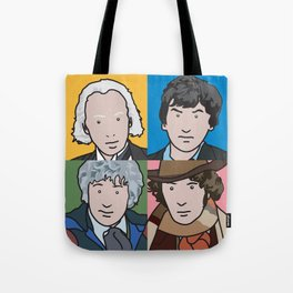 Doctors 1 to 4 Tote Bag