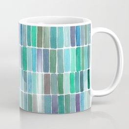 Green Watercolors Coffee Mug