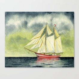 Fair Winds And Following Seas Canvas Print
