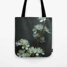 Blackthorn Blossom Tote Bag