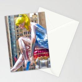 Seated Ballerina at Rockefeller Center 1 Stationery Cards