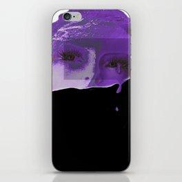 Violet Tears iPhone Skin