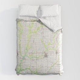 LA Crowley 335164 1985 topographic map Comforters