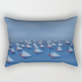 May visiting East - shoes stories Rectangular Pillow