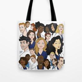 Grey's Anatomy Tote Bag