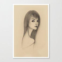 """""""PORTRAIT"""" Canvas Print"""