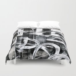 Gritty Philly Duvet Cover