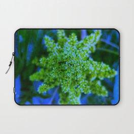 Lime Green Sumac Bloom Laptop Sleeve
