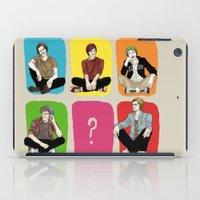 "band iPad Cases featuring "" Rainbow band "" by Karu Kara"