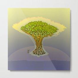 Drago / The Sacred Tree Metal Print