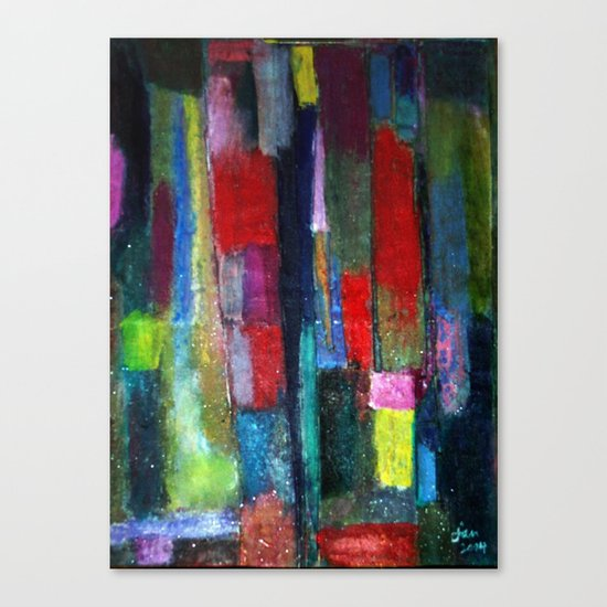 UNTITLED TILED Canvas Print