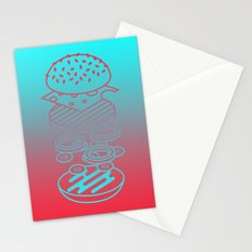 Burgertime Stationery Cards