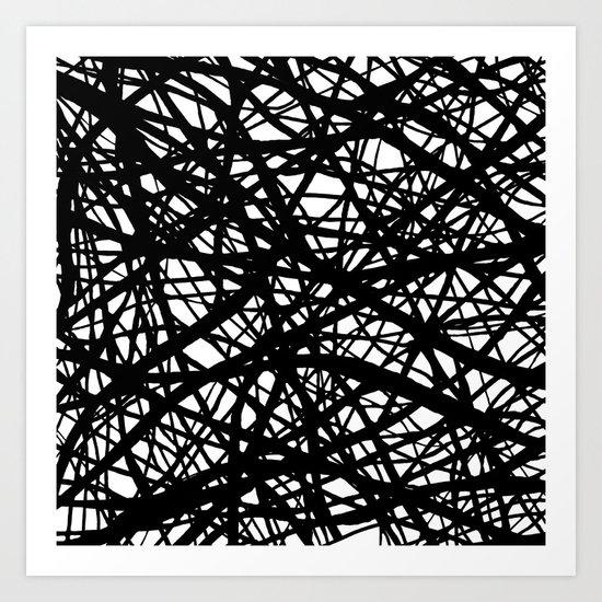 Tumble 3 Art Print