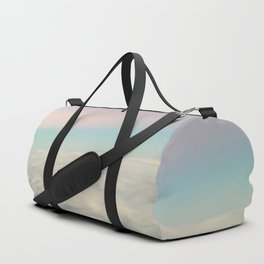 Over the clouds Duffle Bag