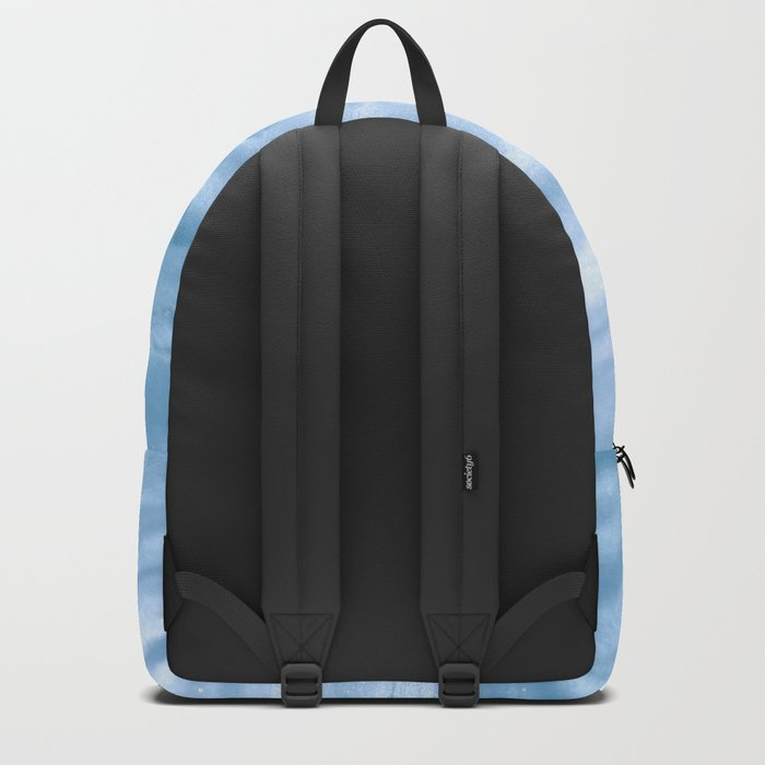 Snow Fall Feather Backpack