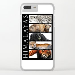 Animals of the Himalayas Clear iPhone Case