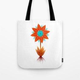 Fire bloom Tote Bag