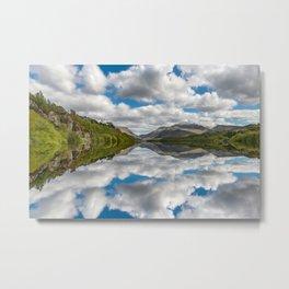 Lake Padarn Snowdonia Metal Print