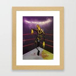 Goldust Framed Art Print