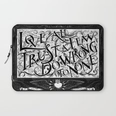 Love All Laptop Sleeve