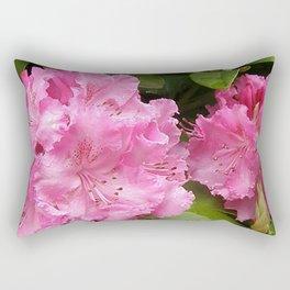 Rhododendron After Rain Rectangular Pillow